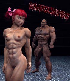 Deathmatch free 3D Porn Comic