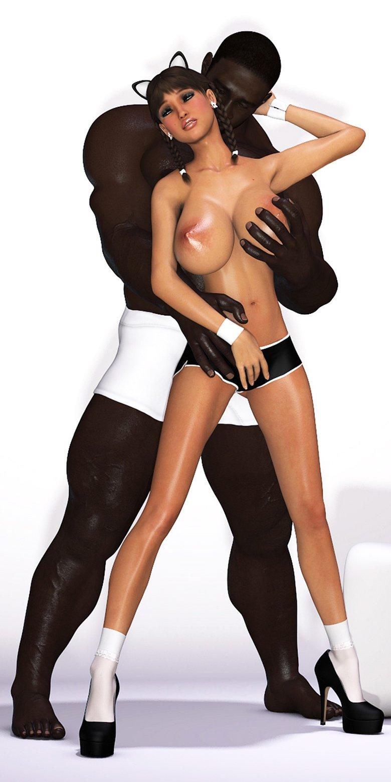 Maria Interracial – 3D Comic