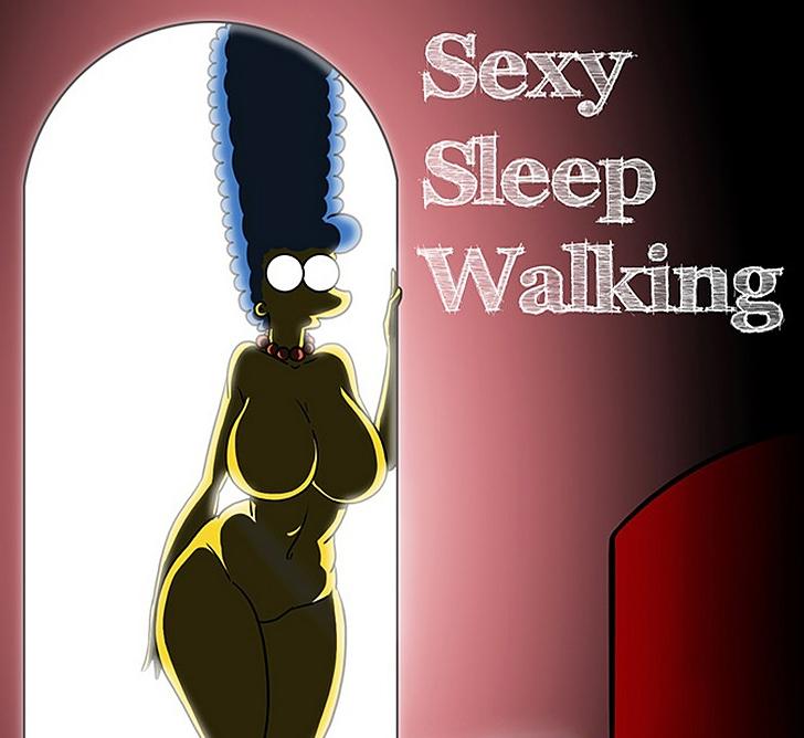 The Simpsons – Sexy Sleep Walking