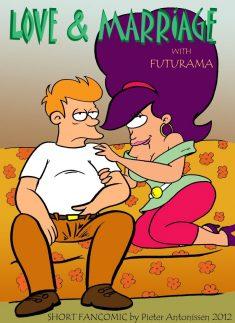 Love and Marriage with Futurama – Short Fancomics