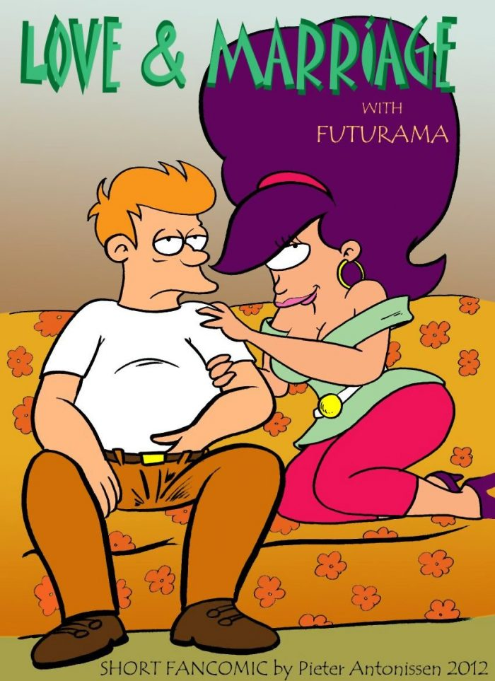 Love and Marriage with Futurama – Short Fancomics