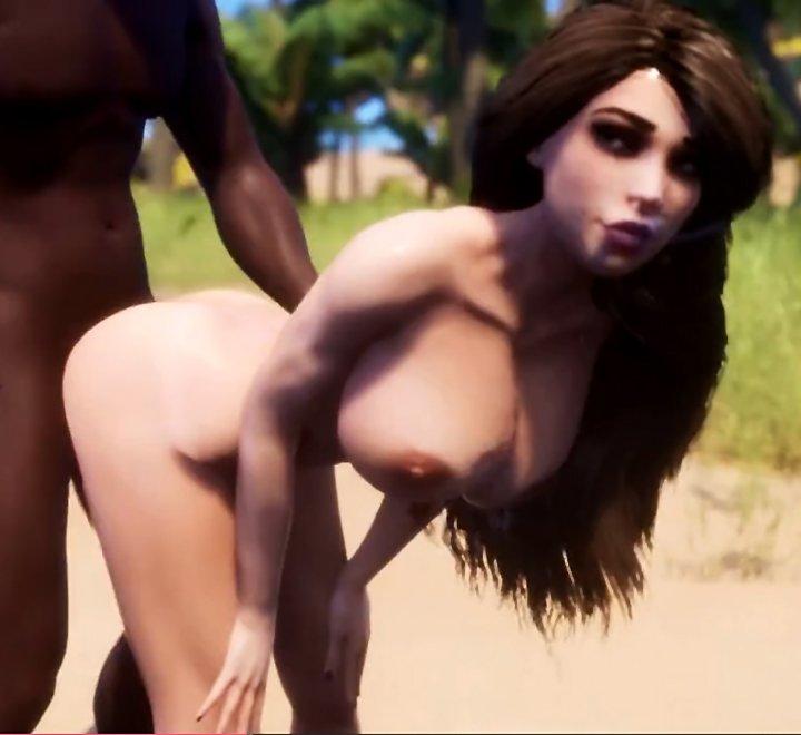 Wild Life Goddess Maya gets Creampied Twice by Tribal