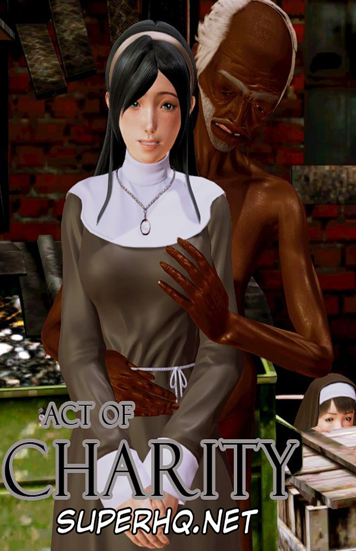 3D Interracial Comic – Act of Charity