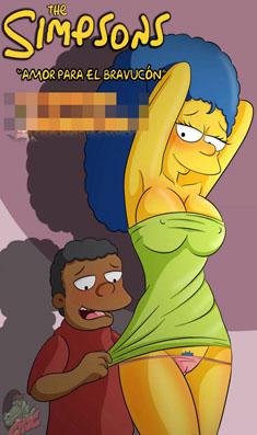 The Simpsons – Amor Para El Bravucon