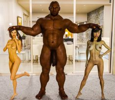 ZerenDevi – Ness and Esabella Foursome